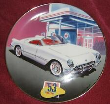 1953 White Chevy Corvette By Donald Wieland - Franklin Mint Limited - 8 Inches