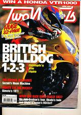 Two Wheels Magazine April 1997 T595 Marauder YB11 NSR500 NSR500V Honda RC45