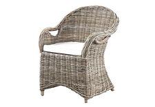 2er- Set Rattan- Stühle, Rattan- Sessel, Naturrattan Shabby- Look natur
