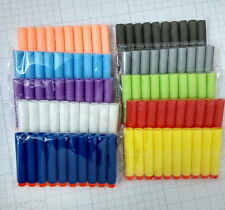 10 Color 100PCS Refill Bullet Darts Nerf N-strike Elite Series Blasters Toy gun