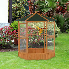 """PawHut 65"""" Large Bird Cage Parrot Finch Macaw Cockatoo Play Pet Supplies House"""