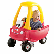 little tikes cozy coupe red kids ride on car