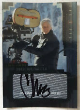 X-Files I Want To Believe Trading Card A3 Chris Carter Director/Writer Auto