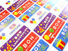 Bon Anniversaire Français Joyeux Étiquettes Autocollants pour Cartes