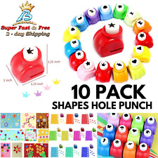 Hole Shapes Punch Craft Set Craft Diy Cards Mini Paper Scrapbooking Supplies New