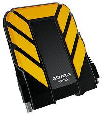 2TB AData DashDrive Durable HD710 USB3.0 Portable Hard Drive (Yellow/Black)