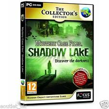 Mystery Case Files Shadow Lake CE PC Game Hidden Object Adventure Game NEW