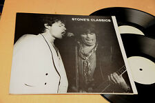 ROLLING STONES 2LP STONE'S CLASSICS TOP NM !! POSTER SLEEVE !!!!!!!!!!!!!!!