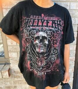 Hellyeah Blood for Blood mens black short sleeve T-shirt XL NEW compressed pack