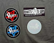 Vigier Guitars 5 Sticker Set<>Coaster & Button.....