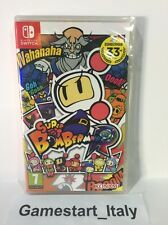 SUPER BOMBERMAN R NINTENDO SWITCH NUOVO SIGILLATO NEW PAL - VERSIONE ITA