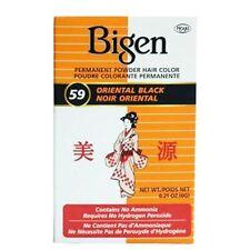 Bigen - Teinture pour cheveux - noir oriental 59 - lot de 2