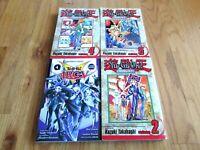 4 Manga Yu-Gi-Oh! Books Good Condition!