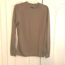 * XGO Men's Long Sleeve T Shirt Light Weight  (Stretchable) Size:S  Color: Brn