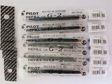 Pilot G-2 G-2 Roller Gel Pen refill 0.38mm---(6 blue)