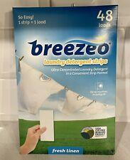New ListingBreezeo Laundry Detergent Strips - 33 loads