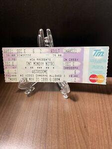 WCW Monday Nitro Ticket Unused Rare & Vintage Astrodome Dec 7, 1999