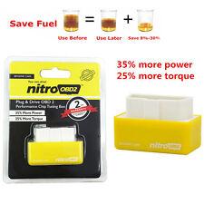 OBD2 Performance Tuning Chip Box Tool For Gas/Petrol Car Vehicles Plug & Drive