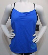 NIKE 2-Piece Bathing Suit Blue Top / Black Bottom Women's XL New with Tags