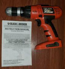 Black & Decker Firestorm 14.4v Cordless Drill / Driver f Removable Chuck FSD142