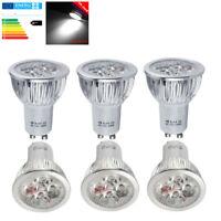 10Stück 6W GU10 LED Birne Leuchtmittel Spot-Strahler 50W Halogenlampen Kaltweiß
