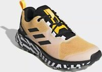 Trail Shoes Running Trainers Mens Adidas Terrex Two Gold