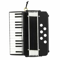 "Realistic Black ACCORDION Christmas Ornament, 2.5"" Tall, by Broadway Gifts"