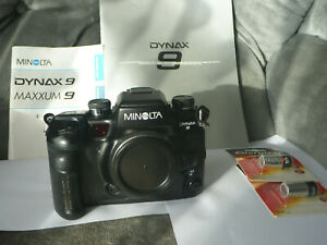 "Minolta Dynax 9 (Maxxum) film camera ""The Last of the Truly Great Film Camera's"""