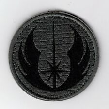 Star Wars Jedi Logo Patch with hook & loop attachment 3 inches tall