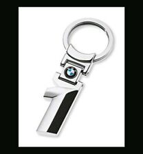 BMW 1 SERIES KEYRING CHROME KEY CHAIN FOB GIFT METAL M SPORT 116 118 120 123 130