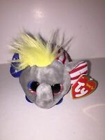"TY VOTE ELEPHANT TEENY TYS 3"" -NEW, W/ TAG-IN HAND *LIMITED EDITION*"