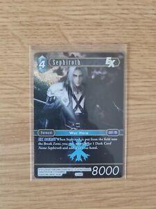 Sephiroth 3-039R Foil/Shiny - Opus 3 - Final Fantasy Trading Card Game