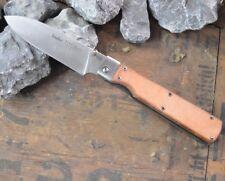 Linder Trekmate Taschenmesser 323614 Ledergriff Allzweckmesser