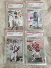 4 - 2000 Collector's Edge Graded Uncirculated/5000 PSA 9 MINT Cards Moss, McNair