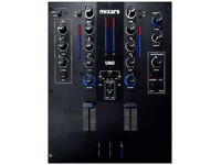Mixars Uno Battle DJ Mixer Professionale a Due Canali con Scratch Fader Galileo