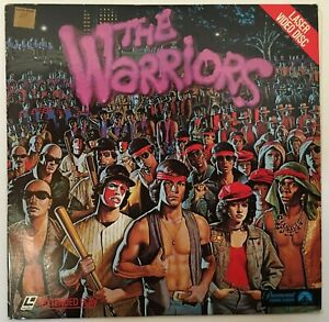 THE WARRIORS Laser Video Disc Extended Play Paramount 1981 original movie