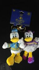 Disney Shanghai Resort Grand Opening Donald and Daisey Plush Keychains