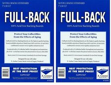 100 Full Back STANDARD SIZE  42pt Acid Free Backing Boards 700FB by E. Gerber