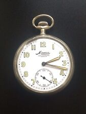 WW2 MILITARY KRIEGSMARINE POCKET WATCH MINERVA John HARTMAN BERLIN WEHRMACH #429
