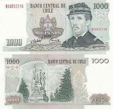Chile 1000 Pesos (2005) - Ignacio Pinto/Monument/p154f UNC