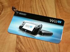 Nintendo Wii U Promo Werbeheftchen Anhänger Werbung Mini Ad Booklet Keychain