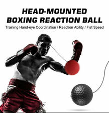 Head-mounted boxing reaction ball, fighting training equipment