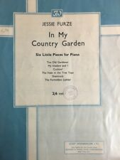 """""""IN MY COUNTRY GARDEN""""  Six Little Pieces for Piano SHEET MUSIC AUSTRALIA (M369)"""