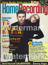 Home Recording Magazine 1999 The Chemical Brothers Lenny Kravitz Vocal Recording