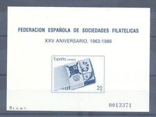 1988 PRUEBA OFICIAL EDIFIL 16 XXV ANIVERSARIO DE FESOFI AÑO DE LA PAZ    TC12122