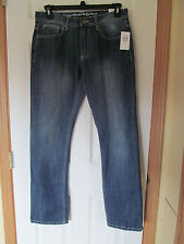 NWT Men's i Jean by Buffalo Ethan Blue Blasted Wash blue Jean Pants W 31 L 32