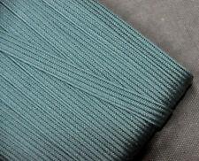 10mm Japanese cotton tsuka-ito, dark grey blue
