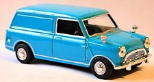 Austin Morris Mini Panel Van 1969-81 blue blue 1:43
