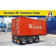 Tamiya 510003887 1 24 20 Container Trailer