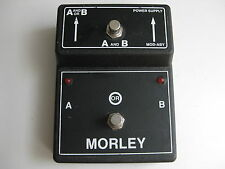 Vintage Morley MOD-ABY Switch Guitar Effect Pedal Switching Box